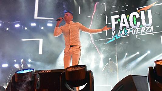 Facu y la Fuerza cantará gratis en un parador de la Costanera