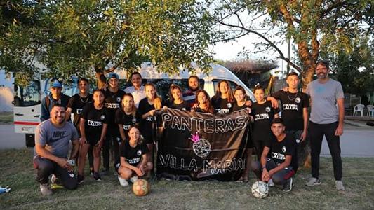 Las Panteras participan del Torneo Internacional de Fútbol Femenino