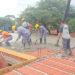 Tio Pujio: Techan las primeras casas del plan de 19 en el predio de Los Algarrobos