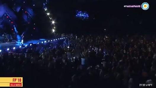 Cuatro de las cinco noches del Festival en vivo y directo por la tele