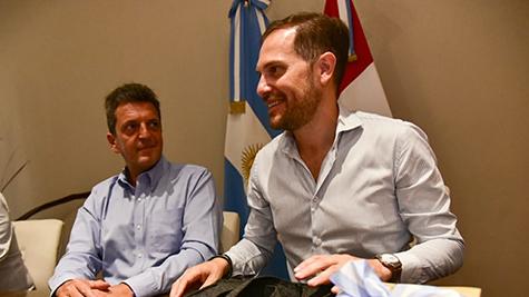 Sergio Massa pasó por Villa María: Festival y campaña política