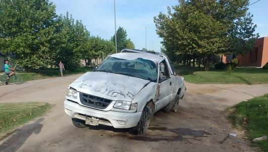 Hurto fatal: Se mató cuando escapaba con una camioneta robada en Villa Nueva