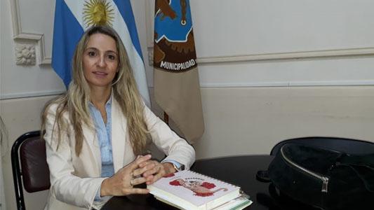 """Única precandidata a intendenta: """"A veces es difícil la política para la mujer"""""""