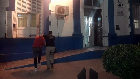Árbitro de fútbol y su pareja, presos por narcos en Marcos Juárez