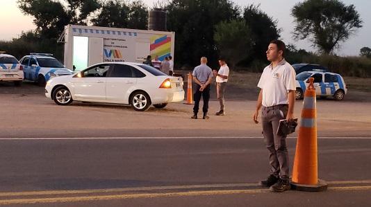 Ruta 158: Puesto de control fijo de Seguridad Ciudadana cerca de Vista Verde