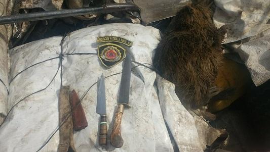 Por una nutria cayeron 3 cazadores en la zona rural de Etruria