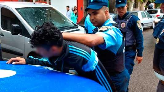 Santafesino prófugo por evasión fue detenido en pleno centro de Villa María