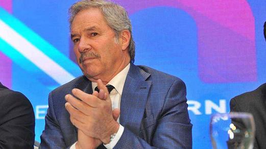 El precandidato a presidente, Felipe Solá visita Villa María