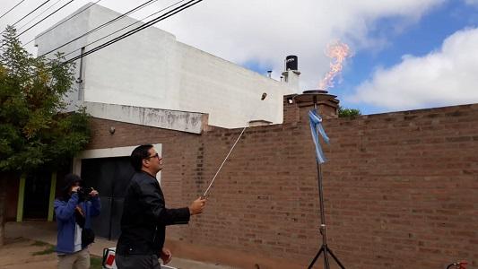 Servicio de gas: Durante el gobierno de Graglia sumaron 7.500 frentistas