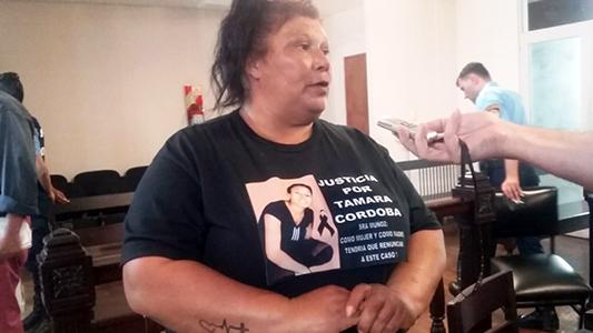 """A mi hija la mataron por venganza"", dijo la mamá de Tamara Córdoba"
