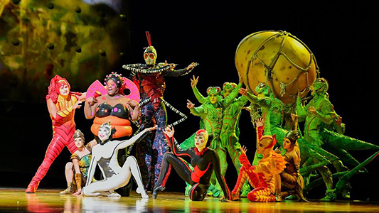 El Cirque Du Soleil regresa a Córdoba con una historia sobre bichos