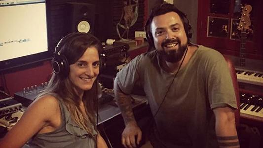 Natalia Pastorutti visita Villa María: Junto a Pablo Cordero graban material para La Sole