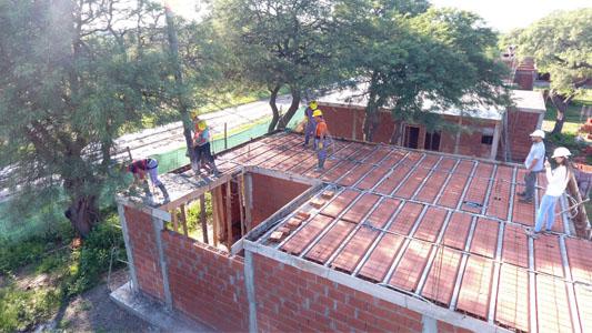 Ya son 15 las casas techadas del programa de la Cooperativa de Tío Pujio