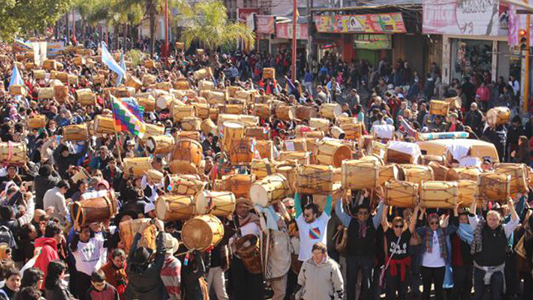 Suspenden la Marcha de los Bombos y destrezas criollas en el Parque