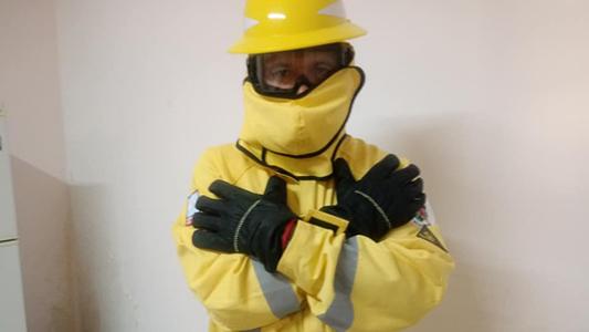 Bomberos preparados: Compraron trajes para incendios forestales y equipos a Austria