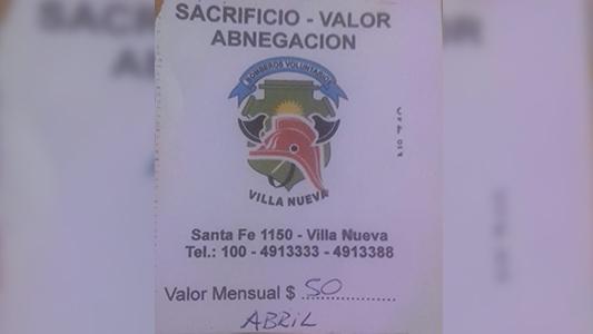 Estafa: Alertan por venta de bono falso que no pertenece a Bomberos de Villa Nueva