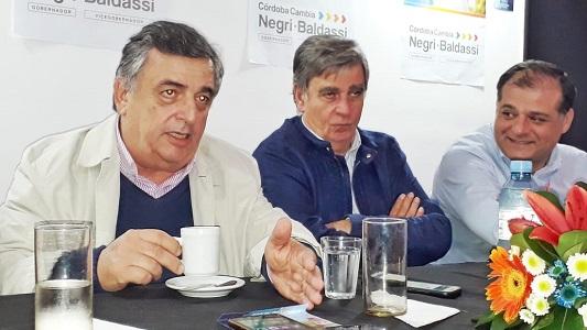"""Negri en Villa Nueva: """"Después de 20 años perdieron el GPS de la Provincia"""""""