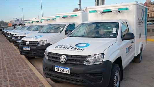 Equipan con camionetas a la Policía Científica de Villa María