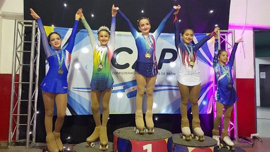 Patinadora del Prado se coronó campeona nacional en Neuquén