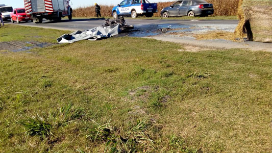 Liberaron bajo fianza al tractorista que chocó con Larose
