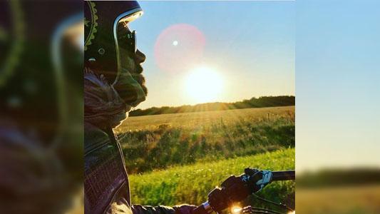 Alejandro Larose falleció al chocar con su Harley Davidson volviendo de Paraguay