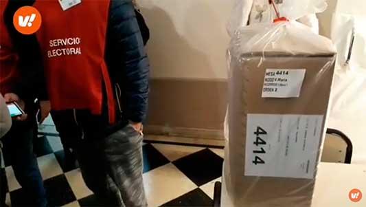 Arranque electoral en 21 escuelas de Villa María y Villa Nueva