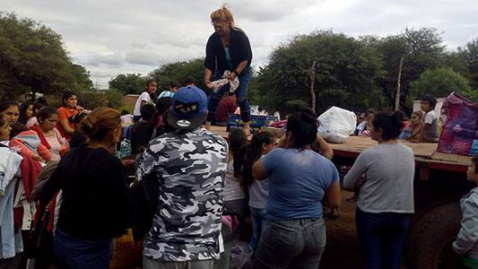 Solidaria: Desde Bell Ville impulsó campaña de donación para llevar a Santiago del Estero