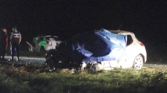 Choque fatal en ruta 9: murieron los conductores y un bebé se salvó de milagro