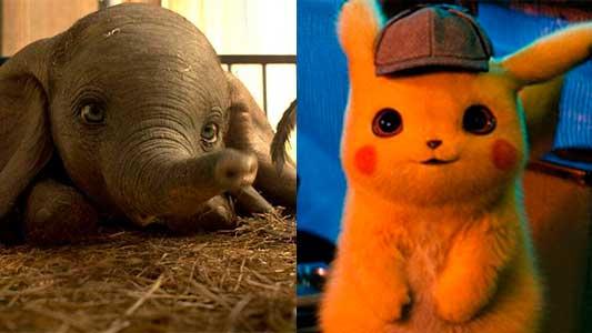 Ganadores de entradas para ver Dumbo y Pokemón en SudCinemas