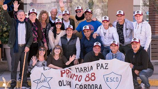 Egresaron hace 30 años y se fueron a cumplir su sueño a Bariloche