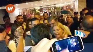 Enfrentaron a Elisa Carrió en Villa María: Reclamaron por despidos en Fábrica de Pólvoras