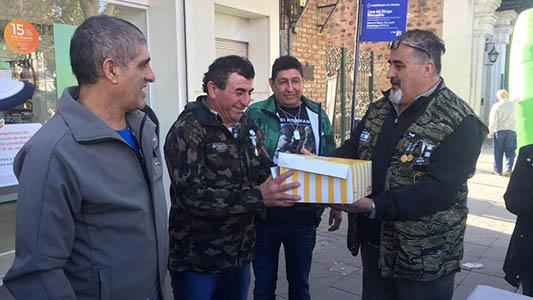 El reencuentro de Ex Combatientes de Malvinas después de 37 años