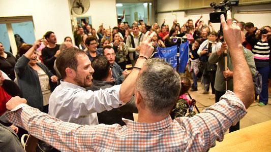 Gill aceleró campaña municipal apenas confirmado el triunfo de Schiaretti