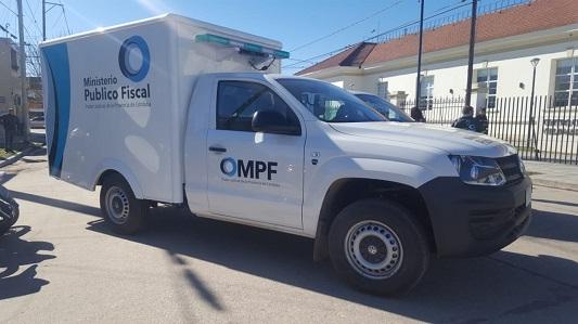 Se inauguró la sede de la Policía Científica en Villa María