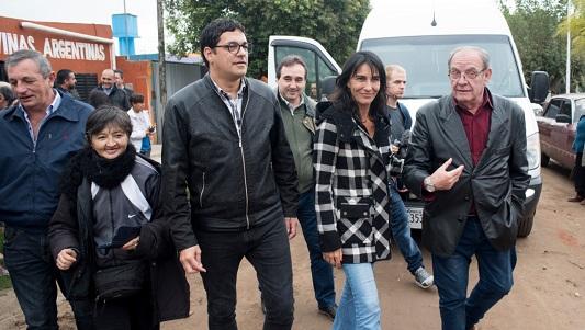 Con Natalia De la Sota, el peronismo recordó a Evita en Villa Nueva