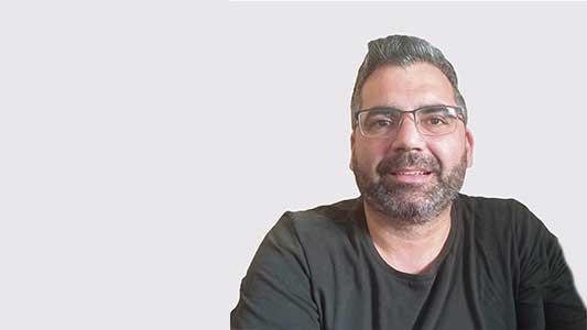 Pablo Menardi y su lista de postulantes por el Movimiento Acción Vecinal