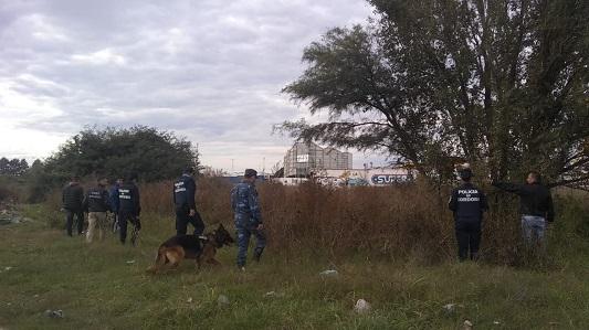 Siguen buscando a Jorge Mir: La policía rastrilló dos barrios