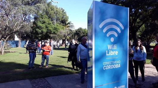 WiFi gratis: cada una de las tres zonas permite 500 conexiones al mismo tiempo