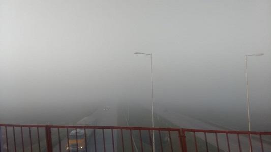 A ciegas por la Autopista: Así amaneció la principal vía de comunicación de la región
