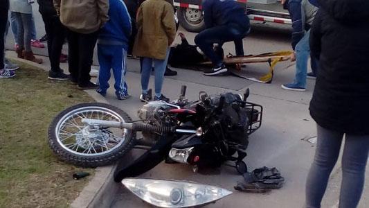 Tres heridos de gravedad en accidentes auto- moto