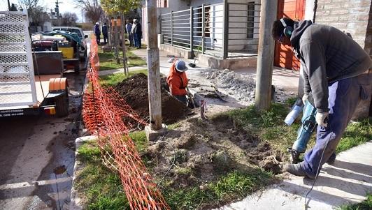 Habilitan el gas en las cuadras que faltaban para completar 6 barrios