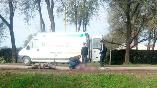 Fatalidad en Villa Nueva: Tenía 17 años el chico que chocó contra un camión de Paraguay