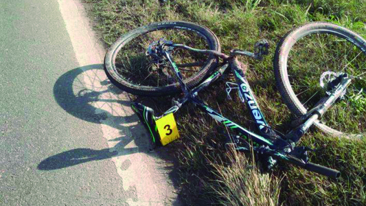 Es de Villa María ciclista fallecido en ruta 9: La bici era robada