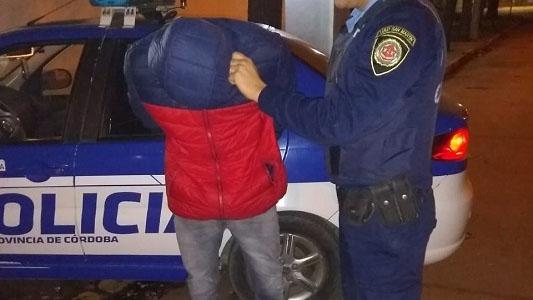 Ocho personas detenidas en Villa María y la región por intento de hurto e infracciones