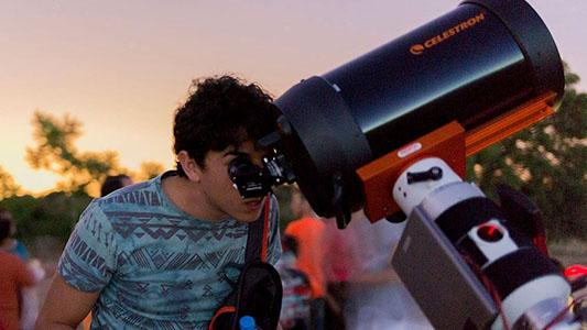 Preparados para el eclipse: Darán una capacitación sobre cómo mirar el fenómeno