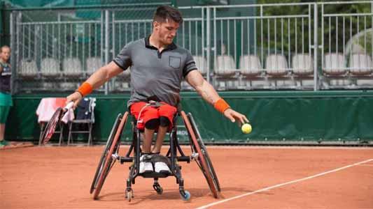 Es de Río Tercero el mejor tenista en sillas de ruedas del mundo