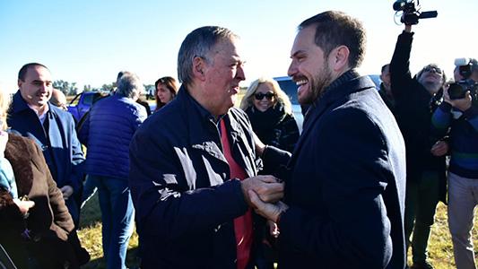 """Schiaretti en Villa María: """"Como siempre seguiremos apoyando a Gill"""""""