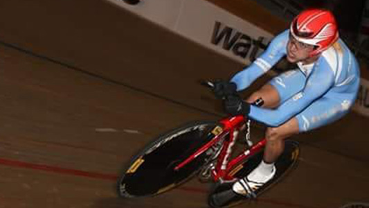 Deportista estrella: Ciclista de Bell Ville se fue a competir a Estados Unidos