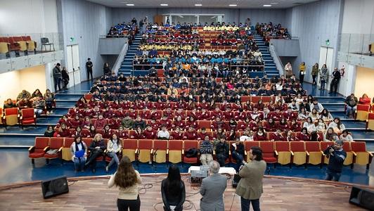 Miles de chicos de más de 20 pueblos vienen a ver qué se estudia en la UNVM
