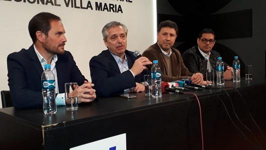 """Fernández: """"Lo primero que haré será poner plata en el bolsillo de los argentinos"""""""